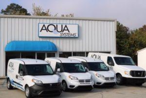 Aqua Systems Vans and Building